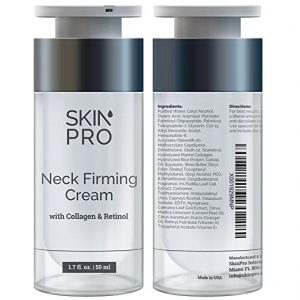 two bottles of neck firming cream