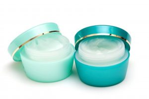 two jars of anti aging night cream