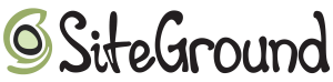 siteground logo which is a website hosting provider for small businesses