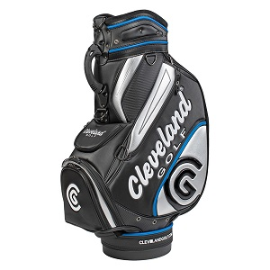 photo of the cleveland golf staff bag
