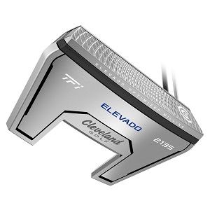 photo of the Cleveland golf TFI 2135 satin elevado putter