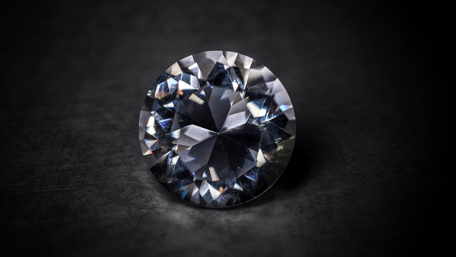 photo of a beautiful true hearts diamond from James Allen