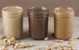 lineup of nut butters to find out what the best nut butter brand is