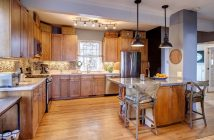 Beautiful kitchen remodel in eclectic style